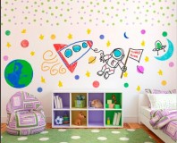 Dry Erase Walls?  Awesome!