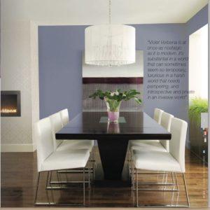 Dining Room Violet Verbena