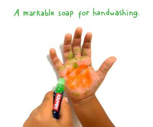 Kid hand soapen