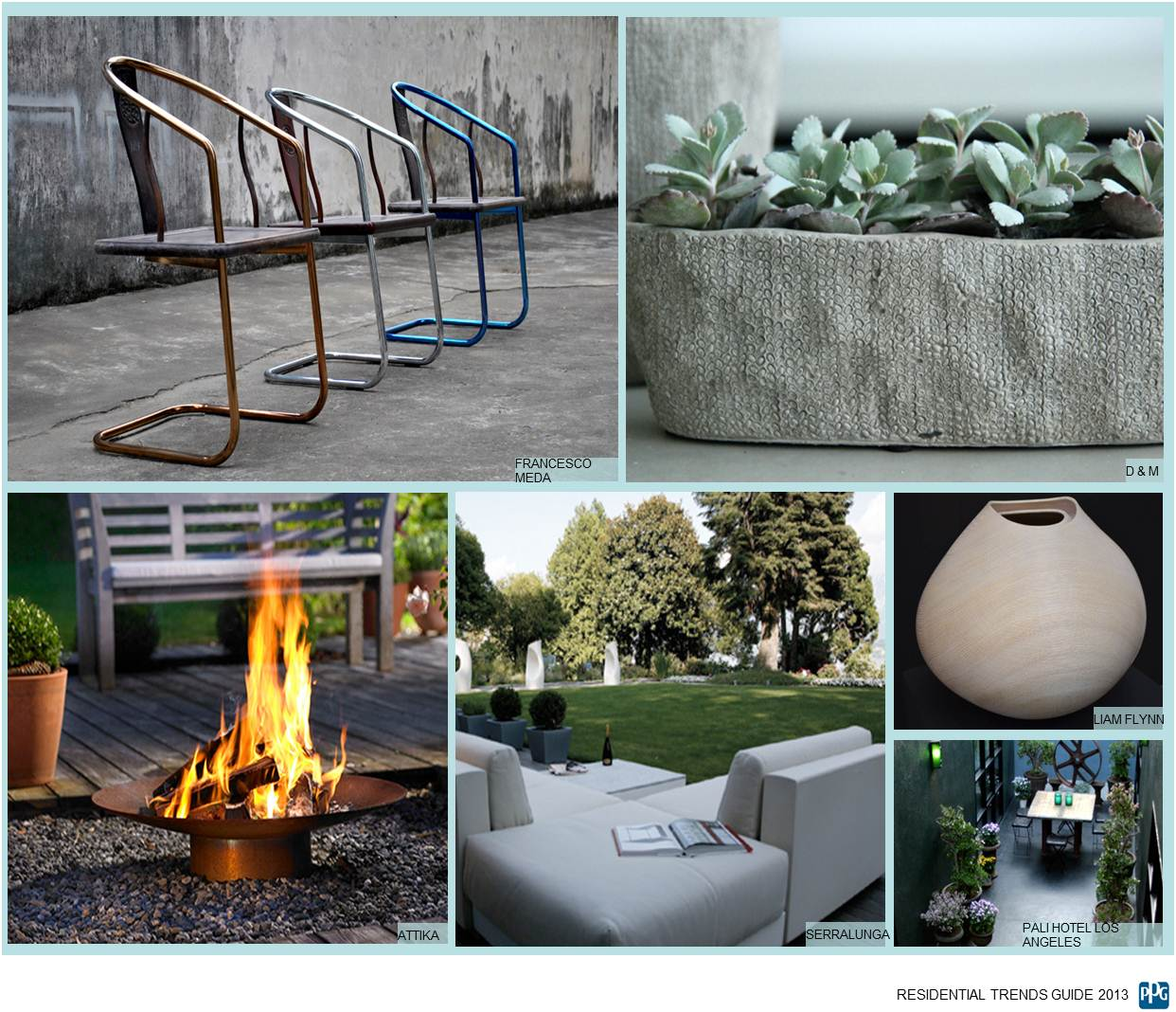 discreet luxury outdoor elements