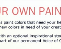 Just For Fun!  Name Your Own Paint Color