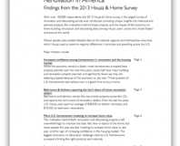 Awesome News! Houzz.com study shows we are ready to make our homes flow better