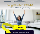 July 15, 7 PM Eastern YOUR Masterclass with Fawn