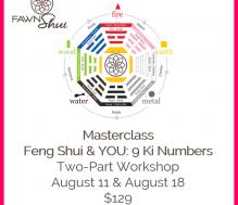 Masterclass: Feng Shui & YOU: 9 Ki Numbers